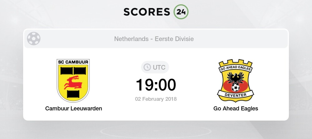 Cambuur Vs G A Eagles Prediction And Bet On 11 September 2020