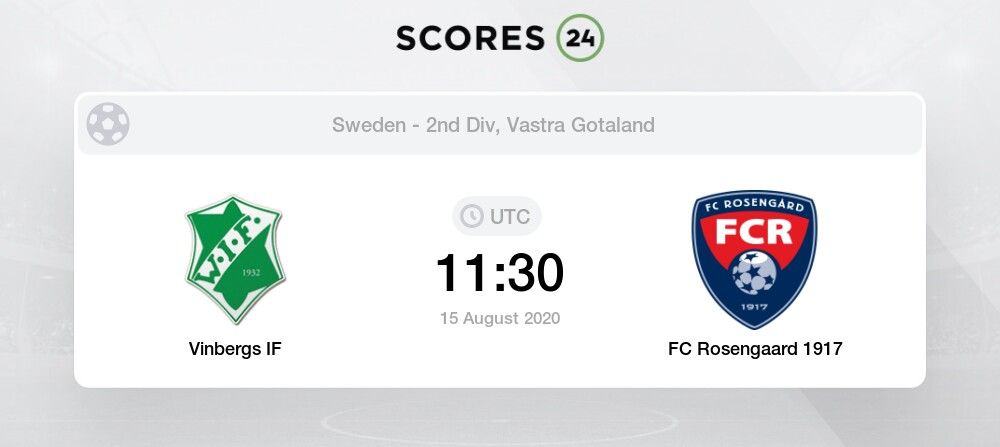 Vinbergs If Vs Fc Rosengaard Prediction And Bet On 15 August 2020