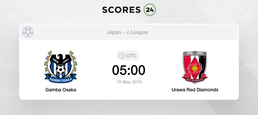Gamba Osaka Vs Urawa Red Diamonds H2h For 19 August 2020